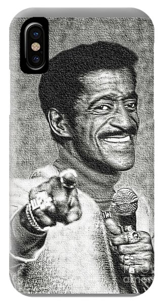 Sammy Davis Jr - Entertainer IPhone Case