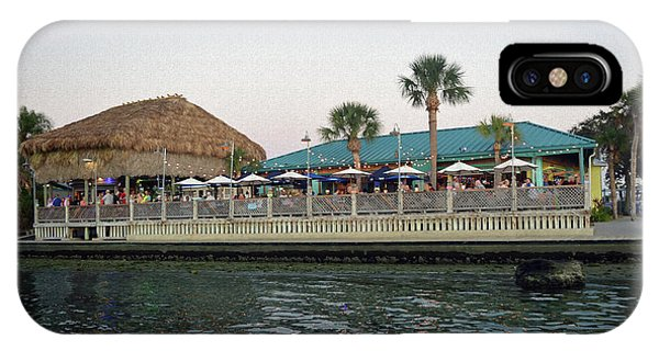 Tiki Bar iPhone Case - Sam's On The Gulf by Aimee L Maher ALM GALLERY