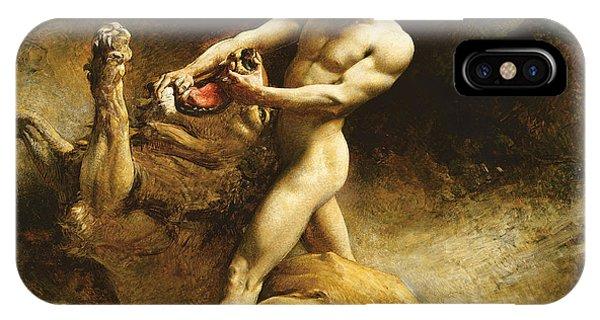Head iPhone Case - Samson's Youth by Leon Joseph Florentin Bonnat