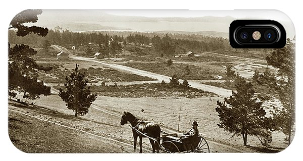 Samuel J. Duckworth Pauses To Look Upon What Would Become Carmel 1890 IPhone Case
