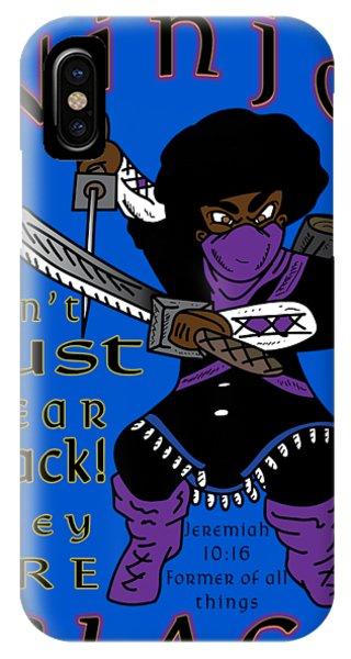 True Ninja IPhone Case