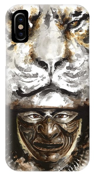 Samurai - Warrior Soul. IPhone Case