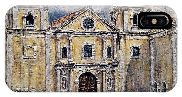 San Agustin Church 1800s IPhone Case