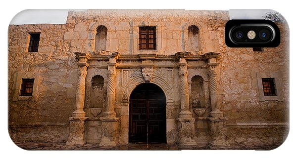 San Antonio Alamo At Sunrise IPhone Case