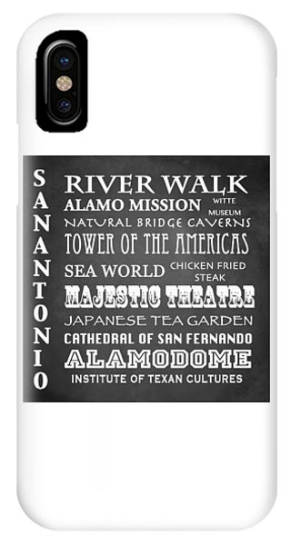 The Alamo iPhone Case - San Antonio Famous Landmarks by Patricia Lintner