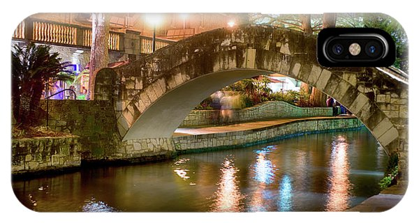San Antonio River Walk V1 IPhone Case