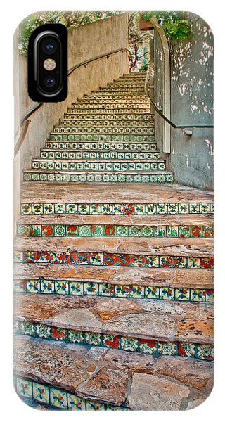 San Antonio Riverwalk Stairway IPhone Case