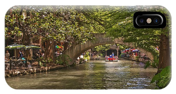 San Antonio Riverwalk IPhone Case
