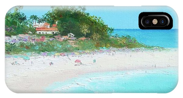 San Clemente Beach Panorama IPhone Case