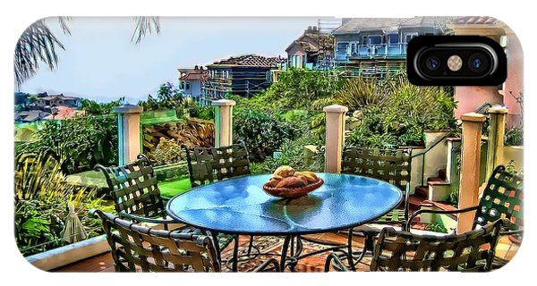 San Clemente Estate Patio IPhone Case