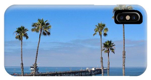 San Clemente Pier IPhone Case