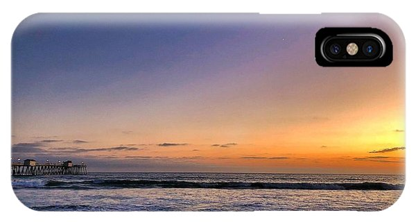 IPhone Case featuring the photograph San Clemente Sunset by Brian Eberly
