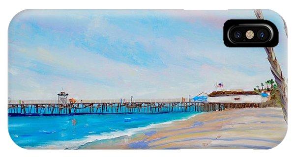 San Clemente Walk IPhone Case