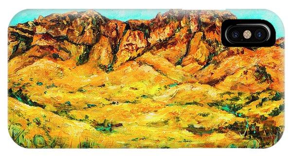 San Cristo Mountains IPhone Case