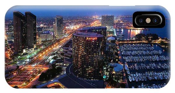 San Diego Bay IPhone Case