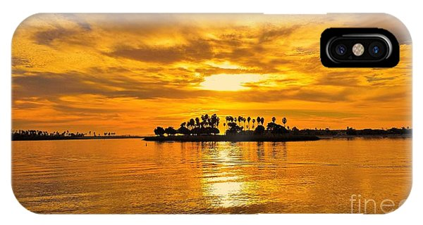 San Diego Golden Sky By Jasna Gopic IPhone Case