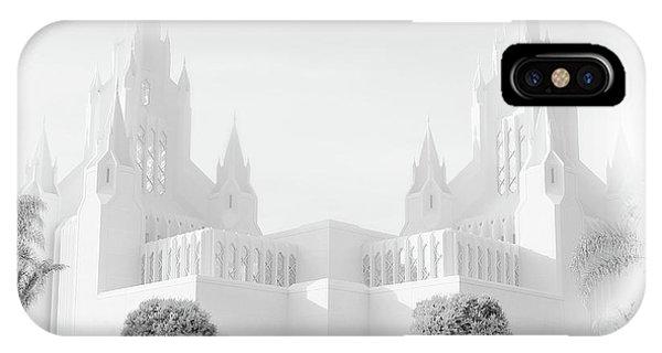 San Diego Lds Temple IPhone Case