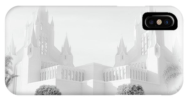 San Diego Lds Temple IPhone Case