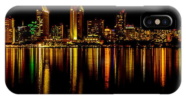 Coronado iPhone Case - San Diego Panoramic by Bill Gallagher
