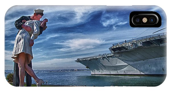 IPhone Case featuring the photograph San Diego Sailor by Chris Lord