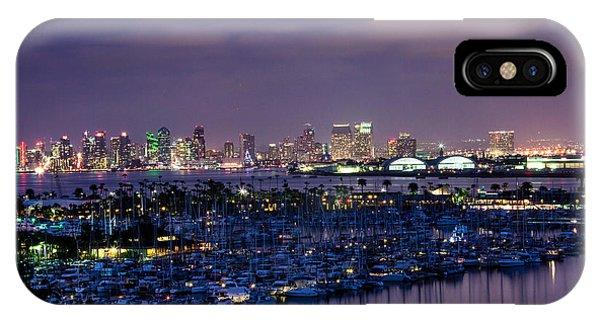 San Diego Skyline 4 IPhone Case