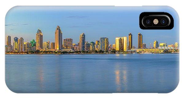 San Diego Skyline At Dusk IPhone Case