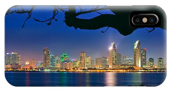 San Diego Skyline From Bay View Park In Coronado IPhone Case