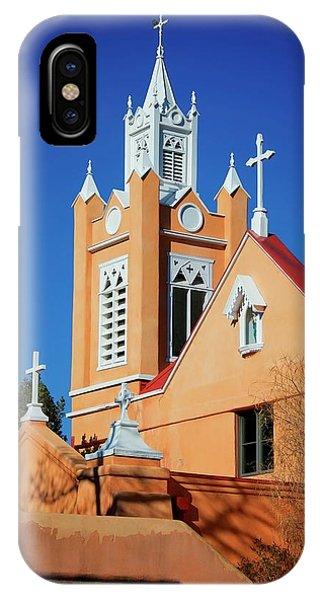 San Felipe De Neri Church, Albuquerque, New Mexico IPhone Case