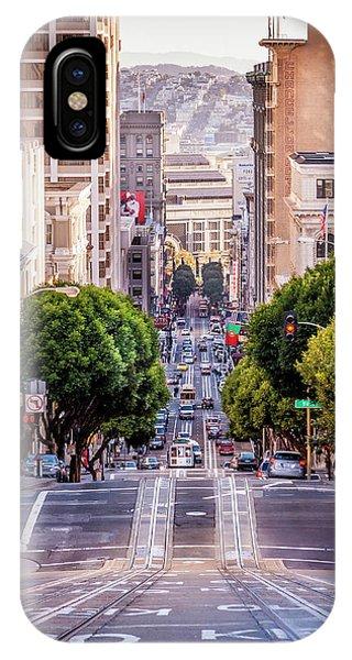 San Fran Cable Car IPhone Case