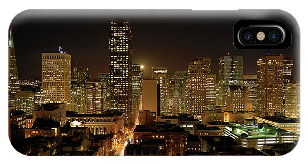 San Francisco At Night IPhone Case