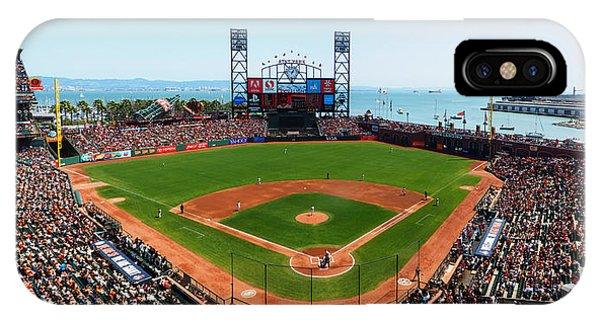 San Francisco Ballpark IPhone Case