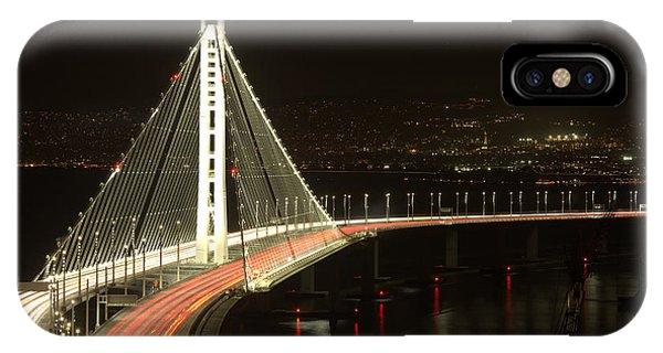 San Francisco Bay Bridge New East Span IPhone Case