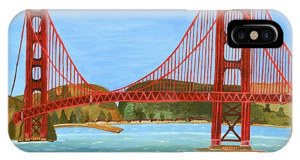 San Francisco Bridge  IPhone Case