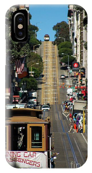 San Francisco Cable Cars IPhone Case