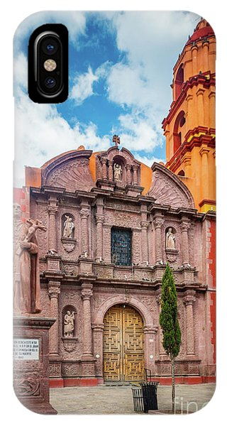 San Miguel iPhone Case - San Francisco Church by Inge Johnsson