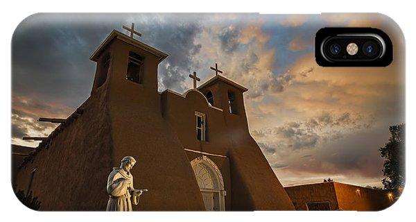 San Francisco De Assisi Mission IPhone Case