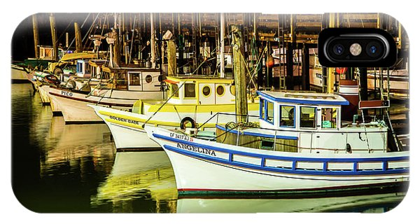 San Francisco Fisherman's Wharf IPhone Case