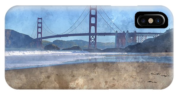 San Francisco Golden Gate Bridge In California IPhone Case