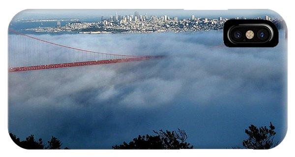 San Francisco Golden Gate Bridge Panoramic  IPhone Case