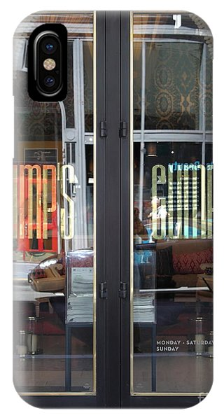 San Francisco Gumps Department Store Doors - Full Cut - 5d17094 IPhone Case