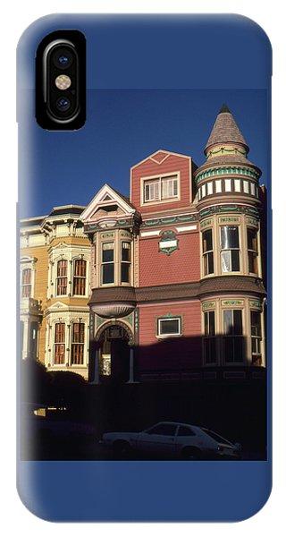 San Francisco Haight Ashbury - Photo Art IPhone Case
