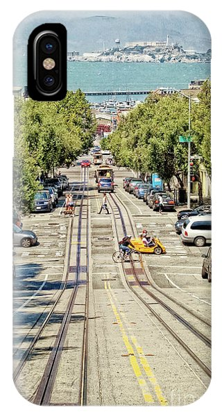 San Francisco Hyde Street View IPhone Case