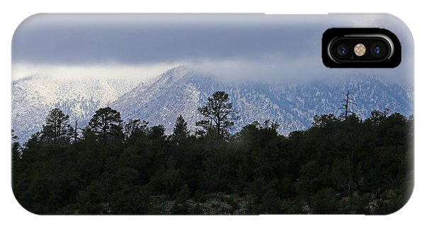 San Francisco Mountains From Walnut Canyon IPhone Case