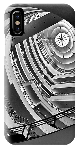San Francisco - Nordstrom Department Store Architecture IPhone Case
