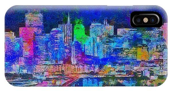San Francisco Skyline 130 - Pa IPhone Case