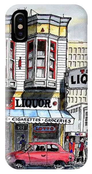 San Francisco Street Corner IPhone Case