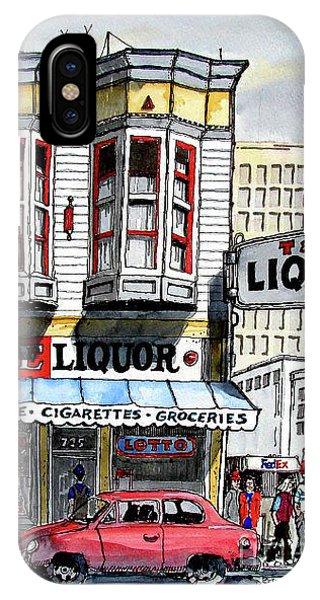 San Francisco Street Corner IPhone Case