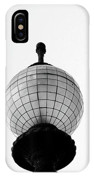 Minimal iPhone Case - San Francisco Street Light- By Linda Woods by Linda Woods