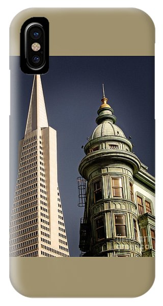 San Francisco Then And Now IPhone Case
