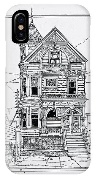San Francisco Victorians  IPhone Case